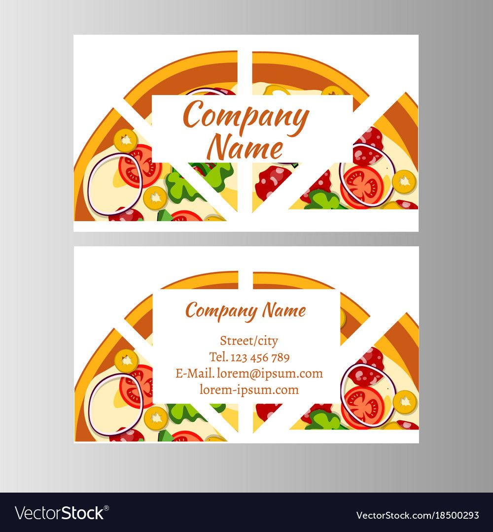 Two Business Card Template For Pizza Delivery With Regard To Frequent Diner Card Template In 2020 Card Template Gift Certificate Template Free Business Card Templates