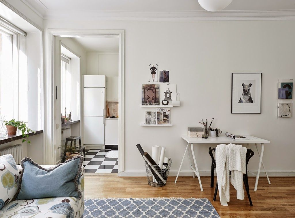 my scandinavian home small space inspiration a lovely swedish apartment