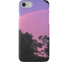Psychedelic Purple & Pink Sky Rainbow iPhone Case