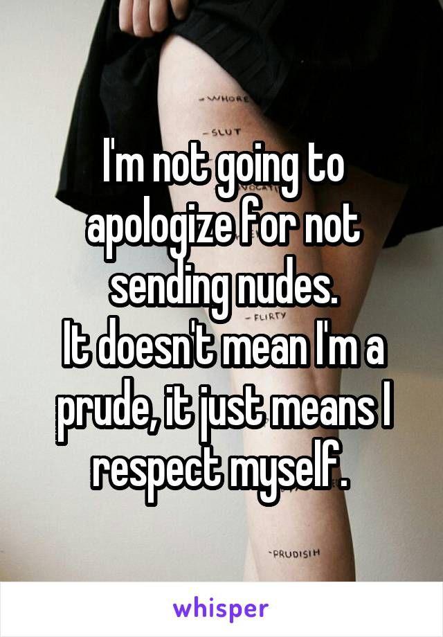 Girls sending nudes