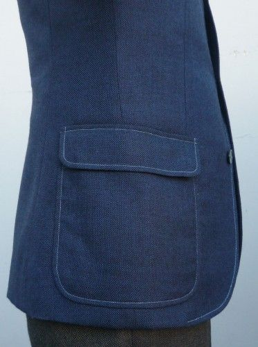 Pockets #3-Patch pocket/flap | Garment Styling Assignment ...