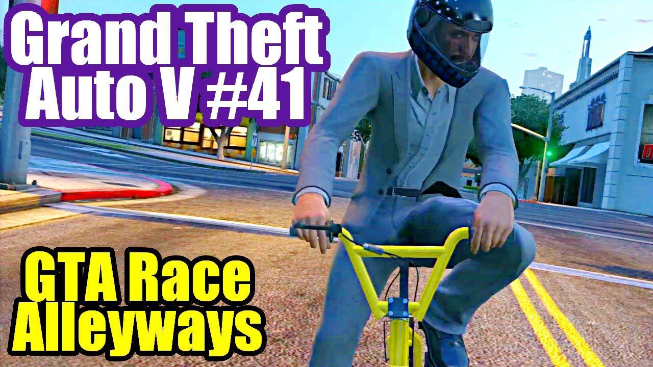 Grand Theft Auto 5 Ps3 Online Fun 27 Alleyways Gta Race On