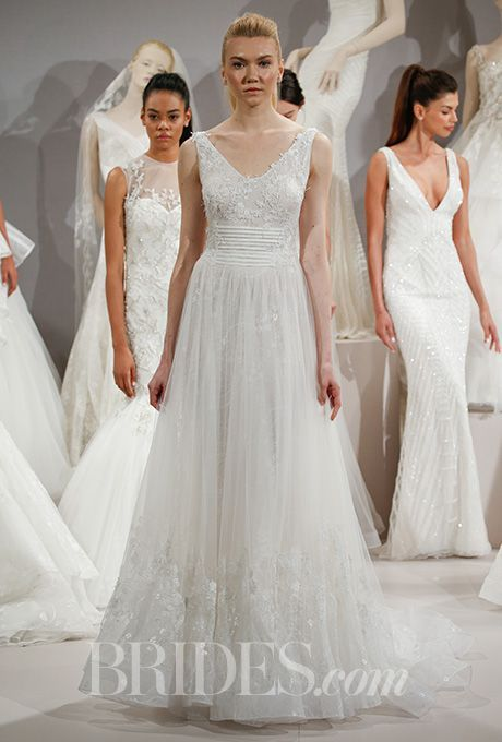 Beautiful Wedding Dresses Inspiration 2017/2018 : A romantic A-line ...