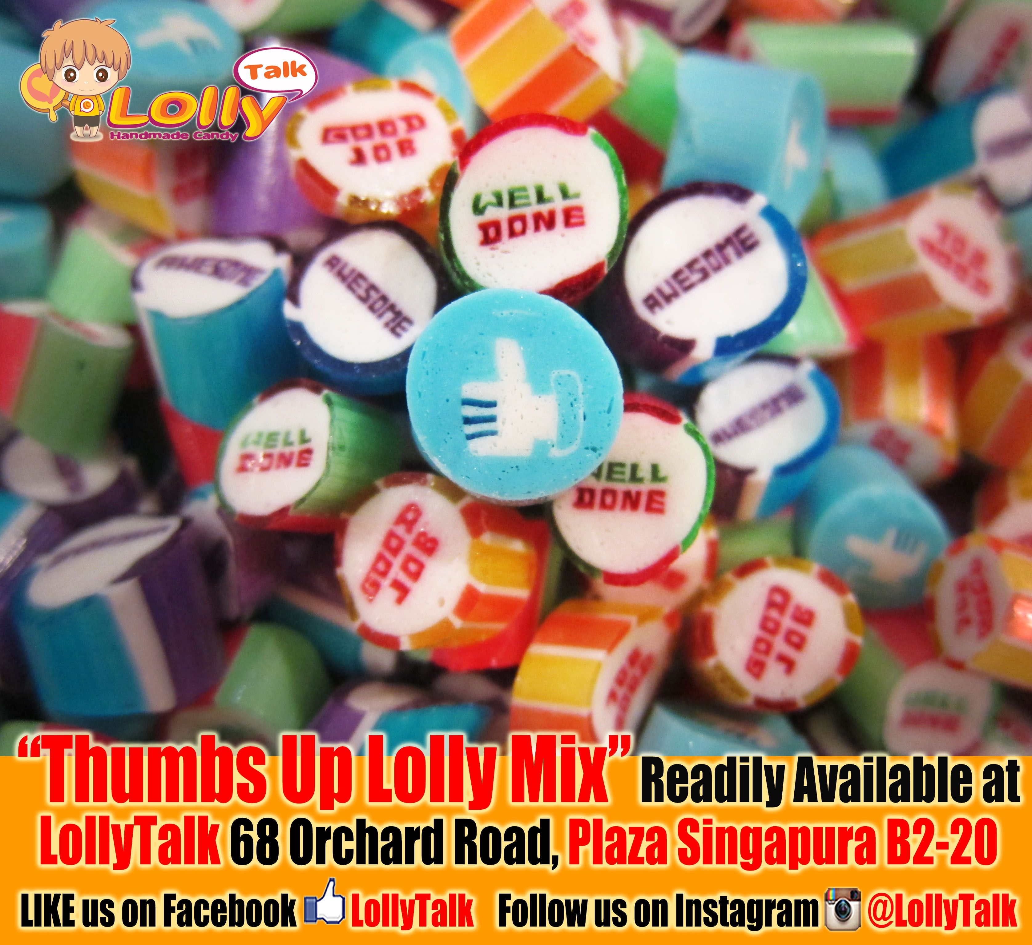 #thumbsup #welldone #goodjob #awesome #LollyTalk #handmade #candy #lollies
