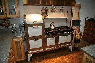 Vintage Broiler Campers Rare Antique 1937 Magic Chef 8 Burner 4 Oven Stove 2 Broiler Plus Vintage Stoves Vintage Kitchen Magic Chef