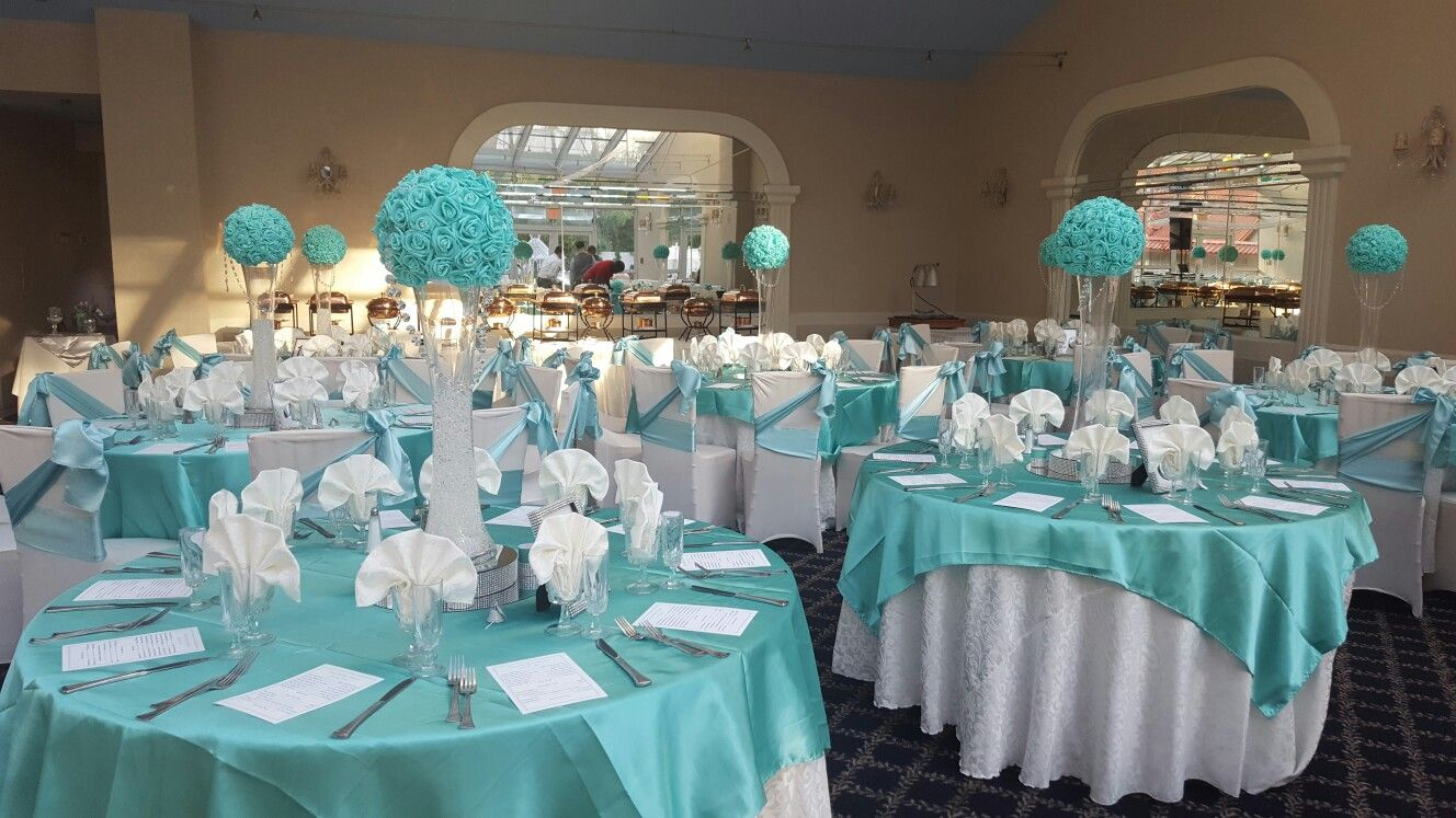 Pin by Yvette Donaldson on Aqua Wedding (With images ...