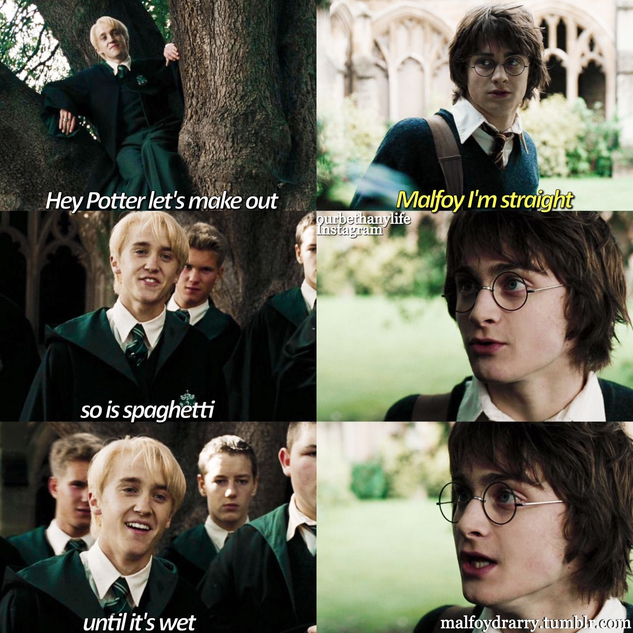 Draco gay harry