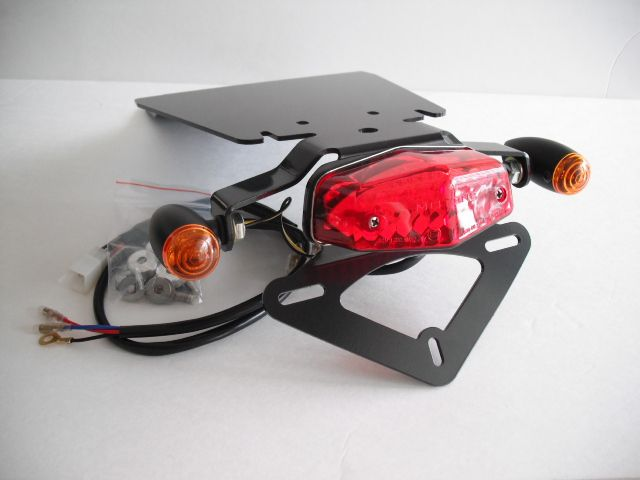 Motone Fender Elimination Kit Lucas Lamp Triumph T100 Mods