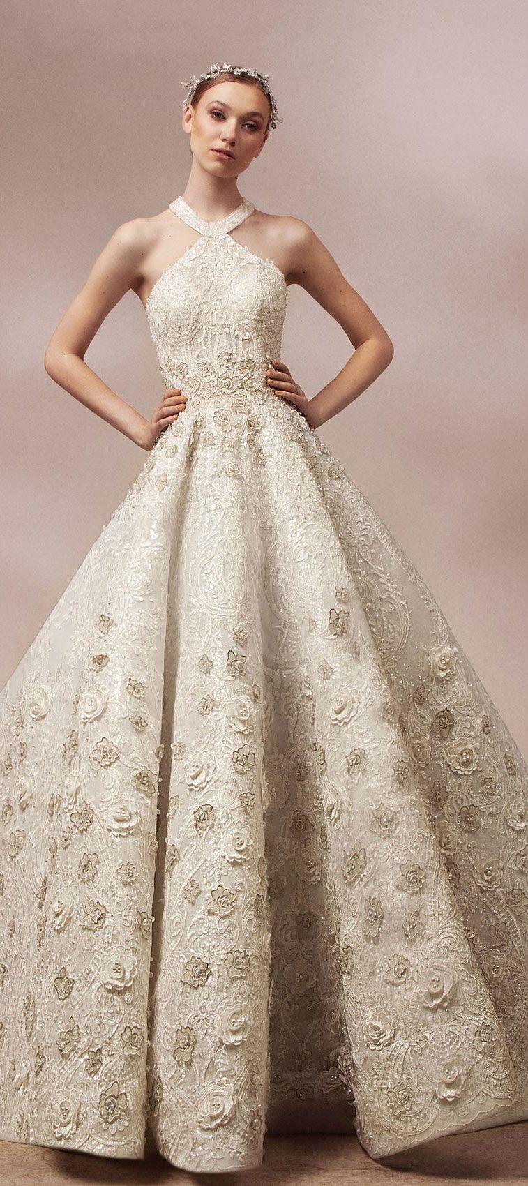 High fashion wedding dress inspiration