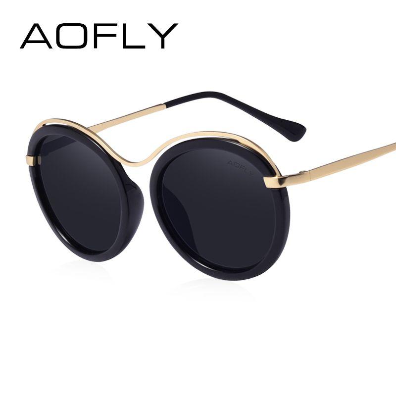 9ad999a41b AOFLY Brand 2017 Fashion Sunglasses Women Design Sun Glasses Female Revo  Lens Lunettes de soleil Shades