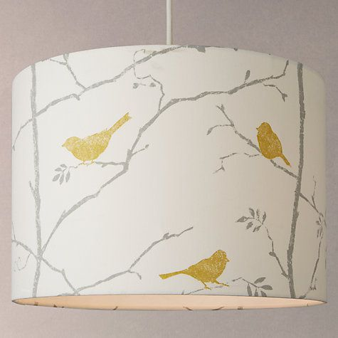 Buy sanderson dawn chorus cylindrical shade online at johnlewis buy sanderson dawn chorus cylindrical shade from our ceiling lamp shades range at john lewis aloadofball Gallery