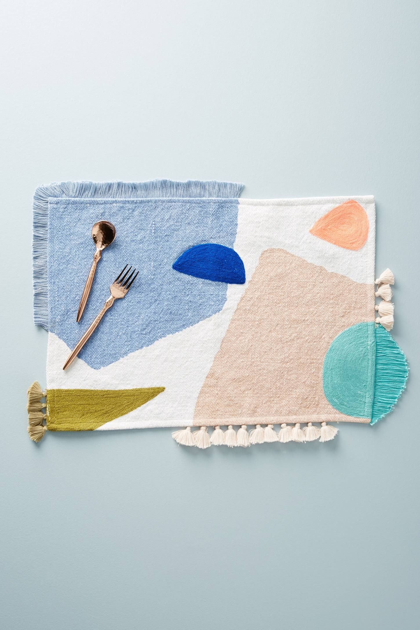 San Sola Placemat Anthropologie Home Weaving Home Textile
