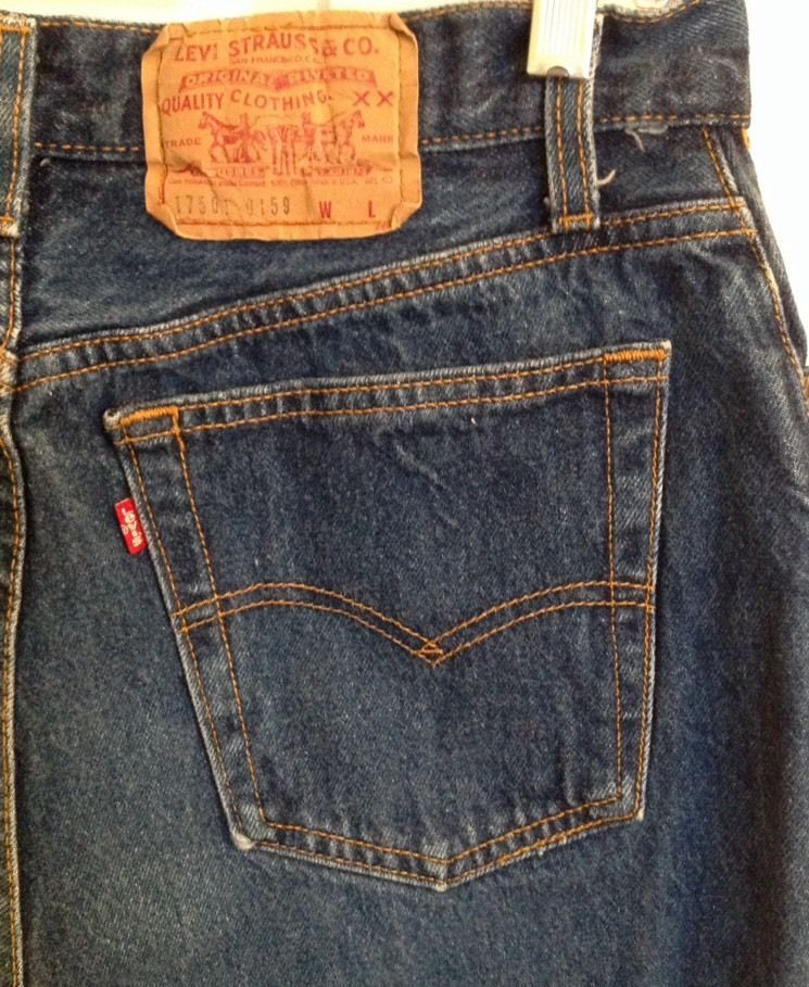 28da3e06 Levi's 501 Jeans Women's 15 Vintage Made In USA Button Fly #Levis  #vintage501