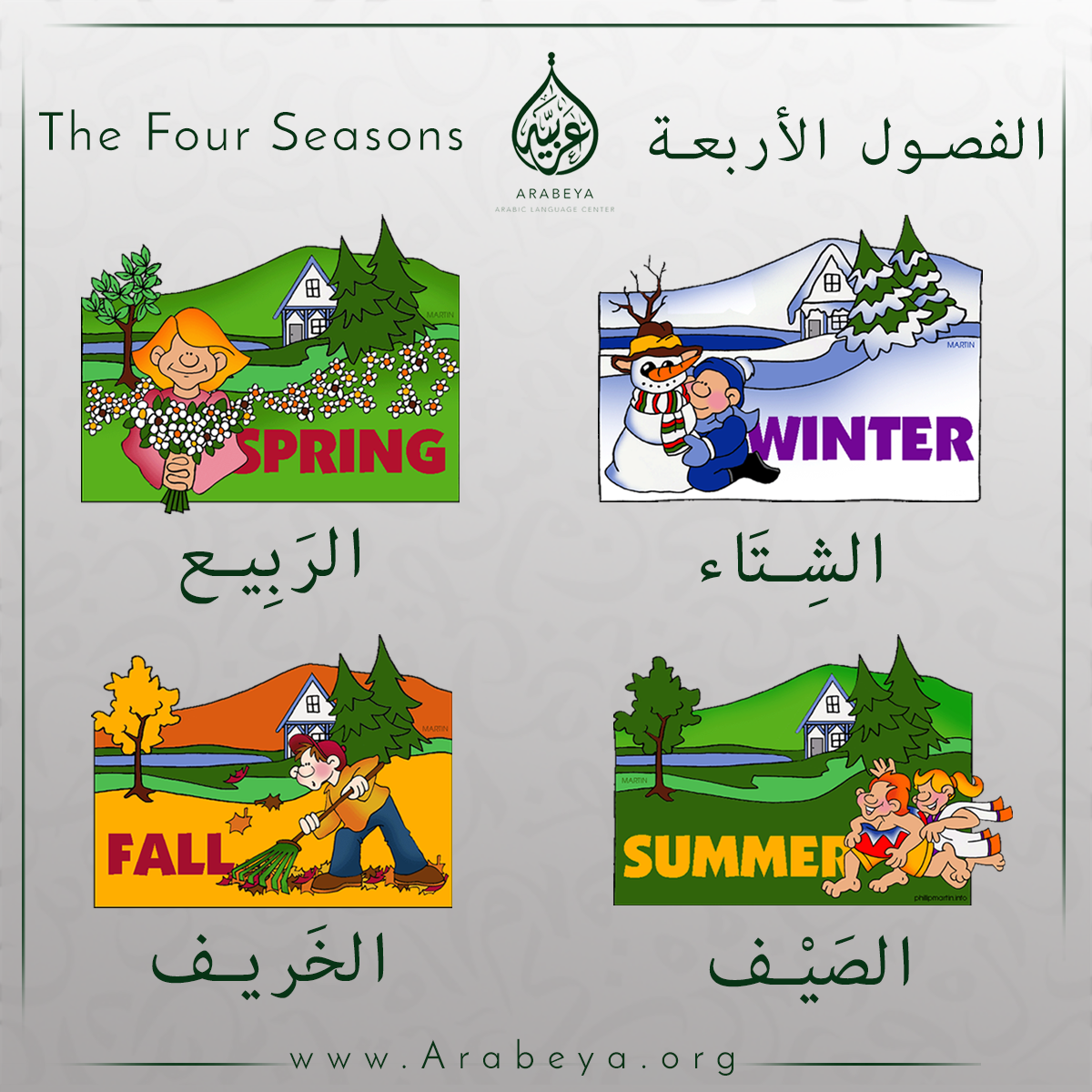 The Four Seasons Of The Year With Images