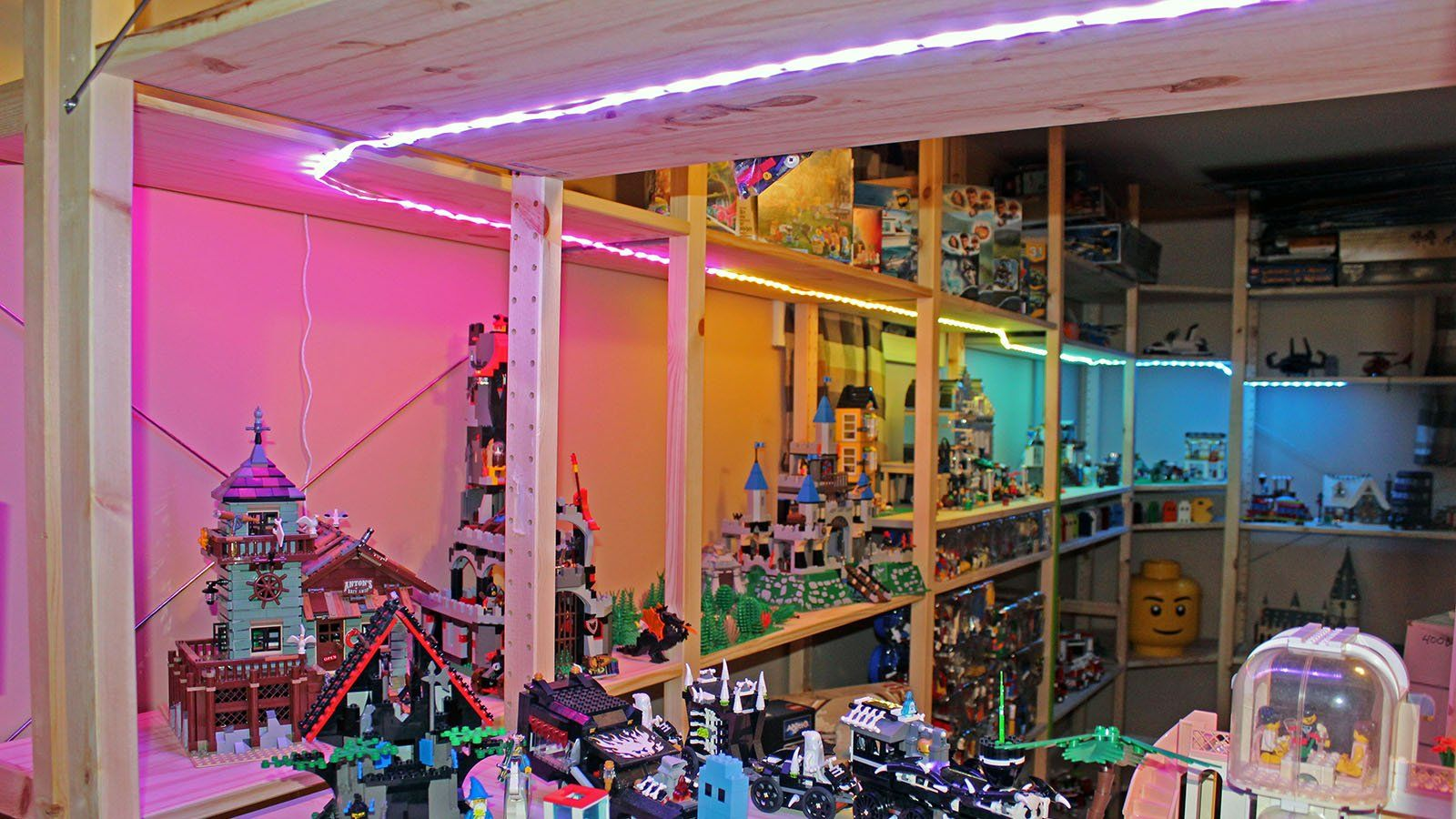 Govee Rgbic Led Strip Lights Are A Rainbow In Your Home Led Strip Lighting Strip Lighting Can Lights