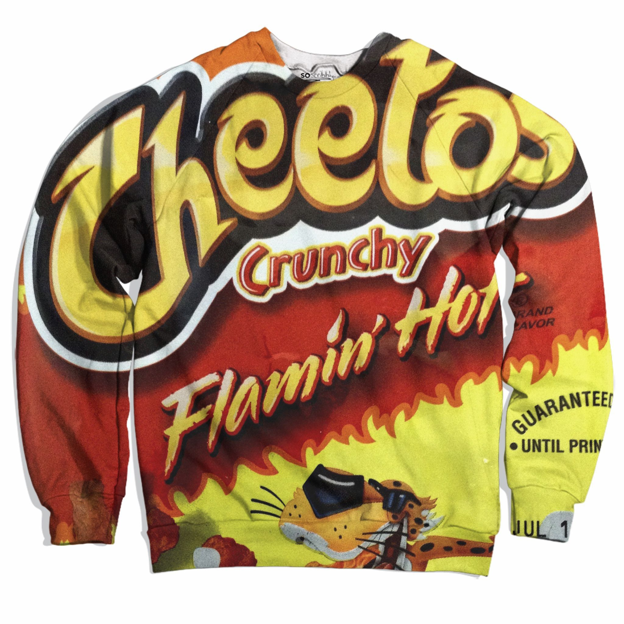 Flamin hot cheetos sweater hot sweater cool sweaters