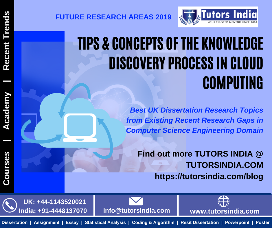 Tip Concept Of The Knowledge Discovery Proces In Cloud Computing Computer Science Engineering Dissertation Topics