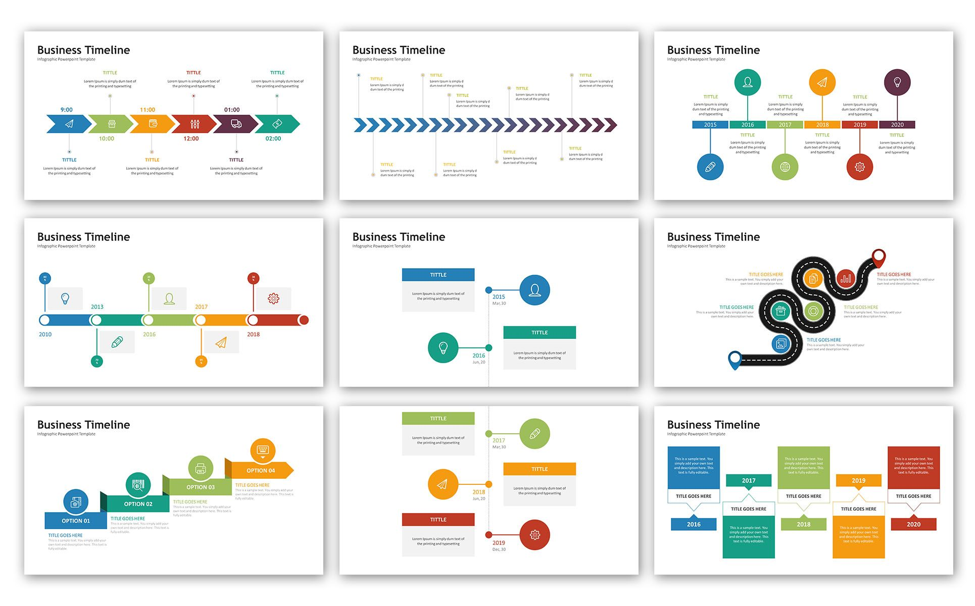 timeline infographic presentation powerpoint template 72072 templates