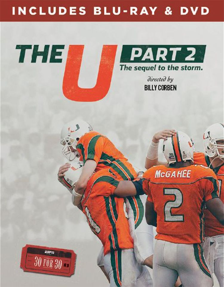 Espn Films 30 for 30 The U, Part 2 DVD and Bluray Combo
