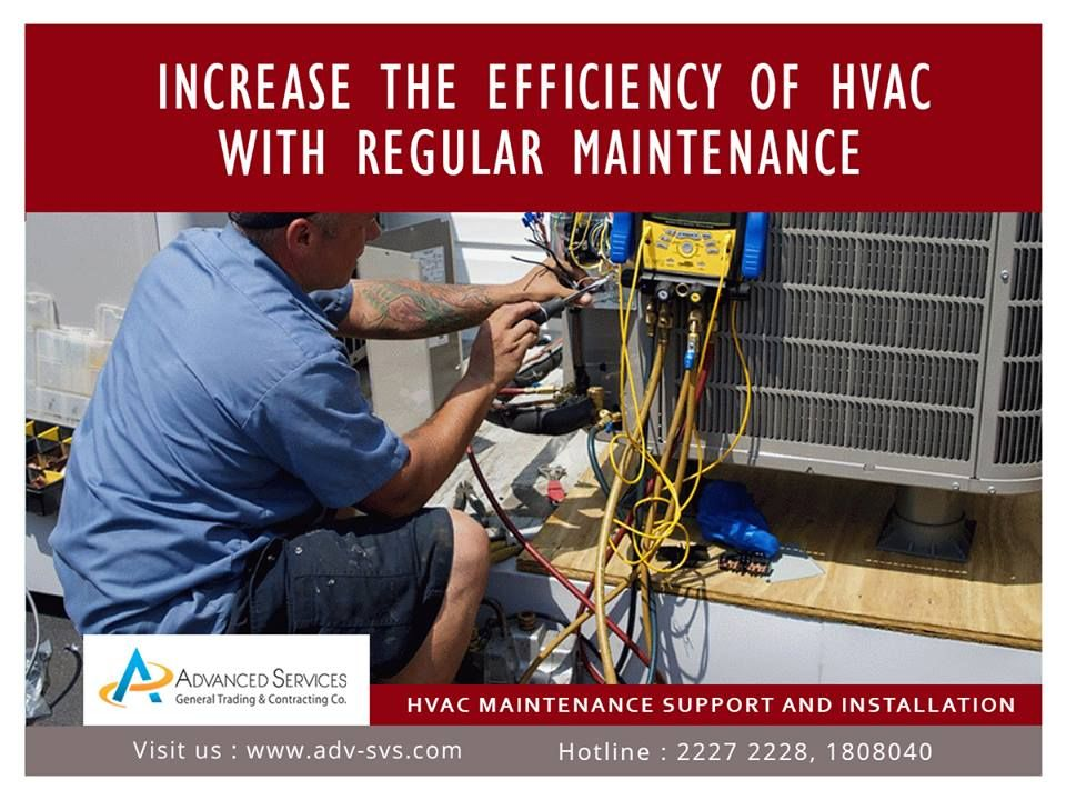 HVAC Air conditioning Maintenance and Services Kuwait