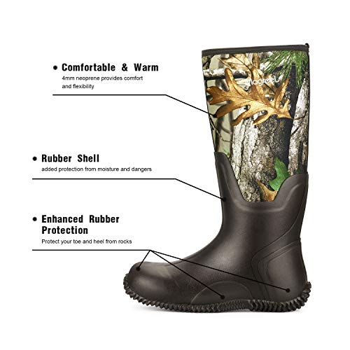 Magreel Waterproof Rubber Boots For Men And Women Rubber Boots For Men Boots Men Boots