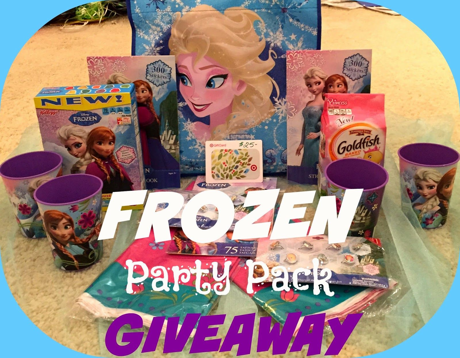 Coolest Summer Ever Frozen Party Pack Giveaway Disney Giveaway