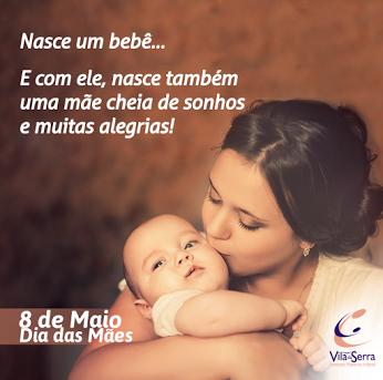 O Hospital Vila da Serra deseja a todas as mamães um dia repleto de felicidade! <3 #FelizDiadasMães