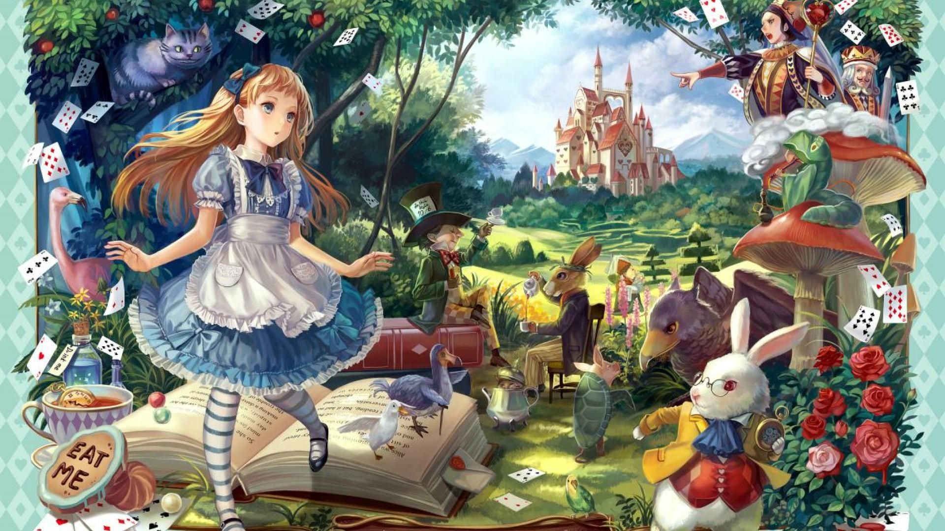 Full Hd Alice In Wonderland Wallpaper Iskusstvo Iskusstvo