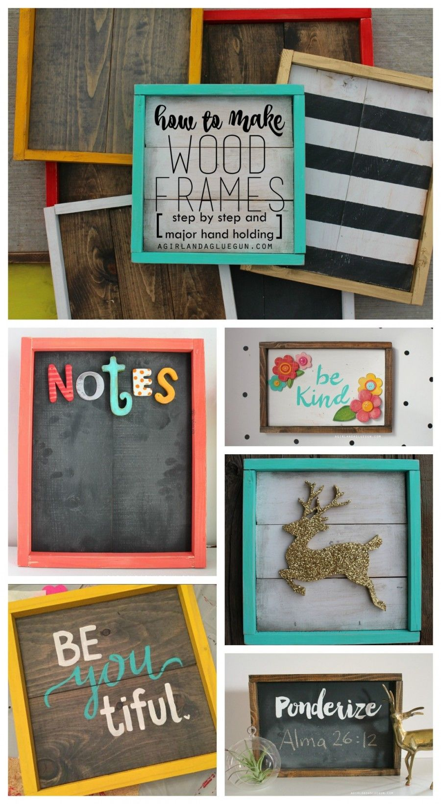 How To Make Wood Frames Step By Step Wood Craft Projects Wood