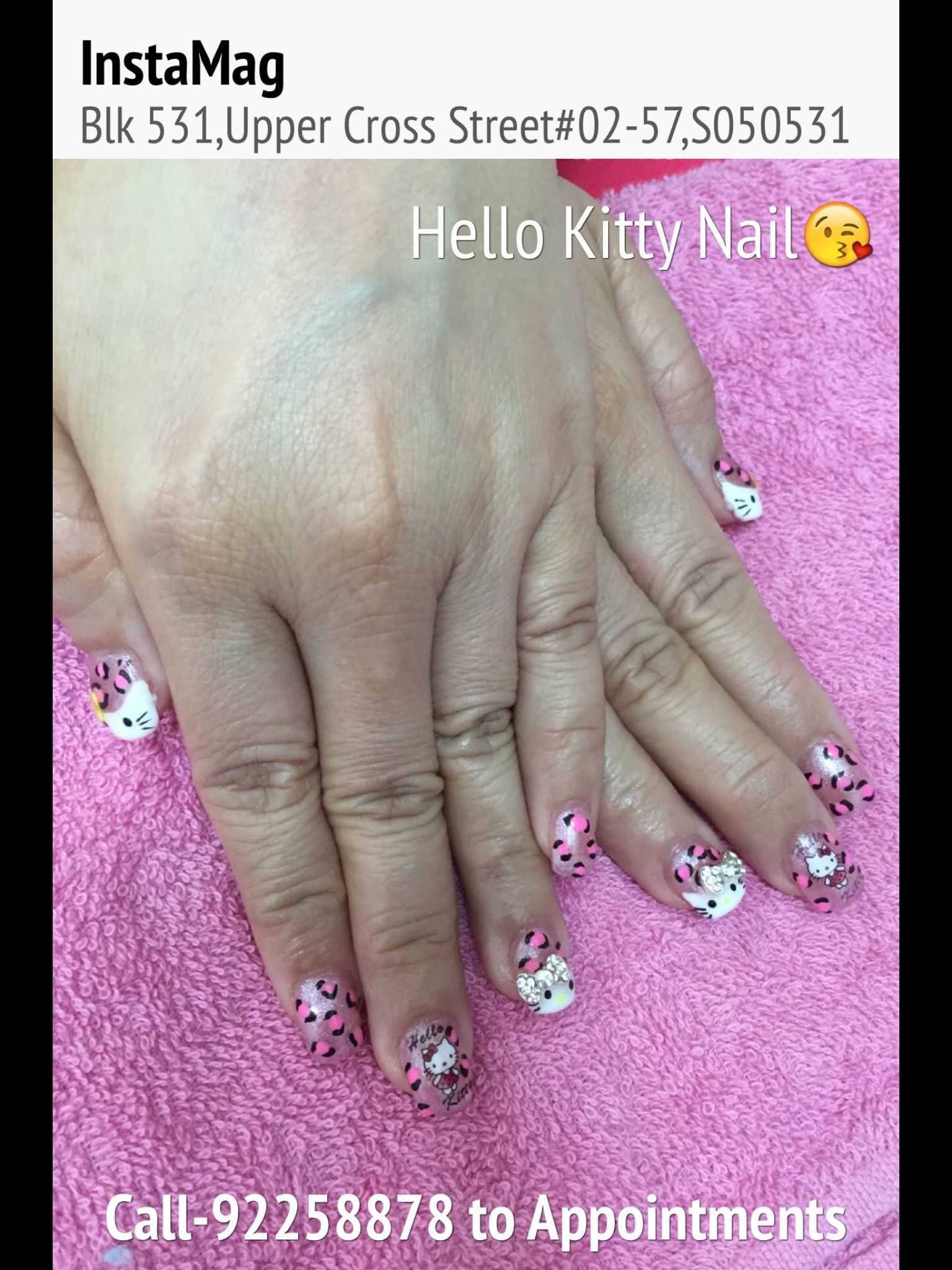 What\'s App 92258878 to Book Appointment. | Wedding Nail Design ...