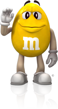 Yellow M M Characters Brand Character Yellow M M