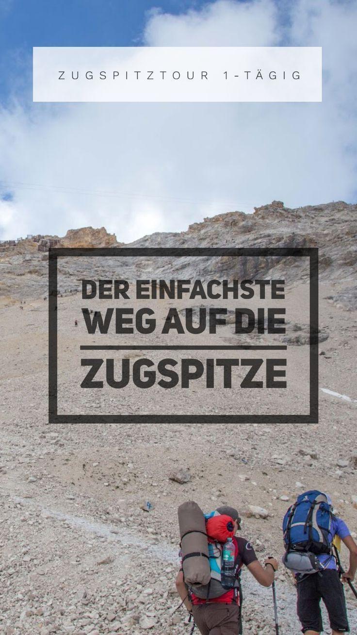 Wanderung von Garmisch auf die Zugspitze | Zugspitztour 1-tägig