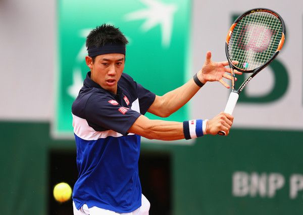 Kei Nishikori Photos - 2015 French Open - Day Eight - Zimbio