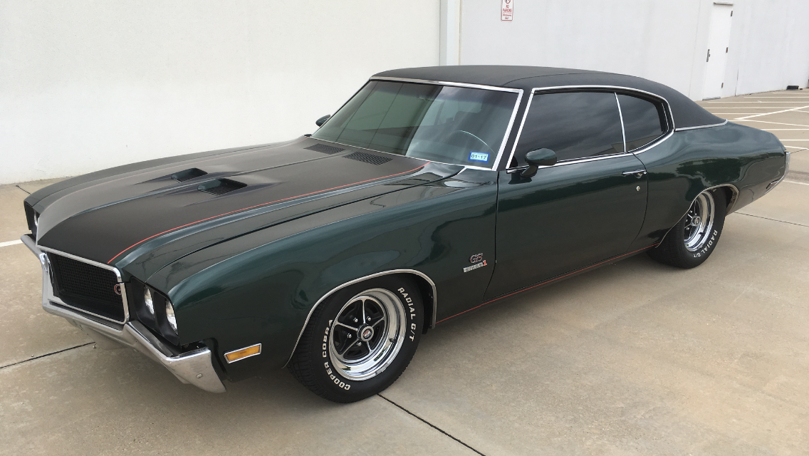 1970 buick gs 455, muncie 4 speed, umi suspension lowered with 2