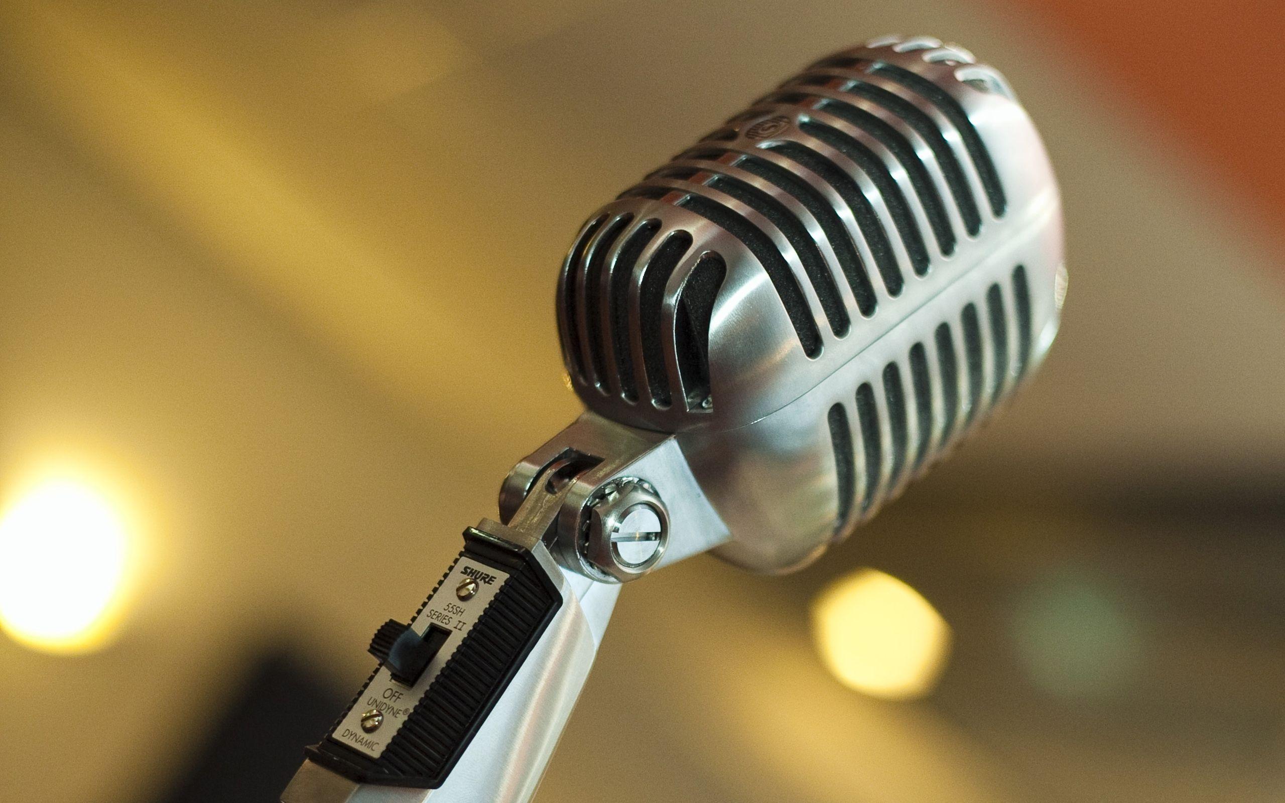Vintage Mic Singing Vintage Microphone Microphone