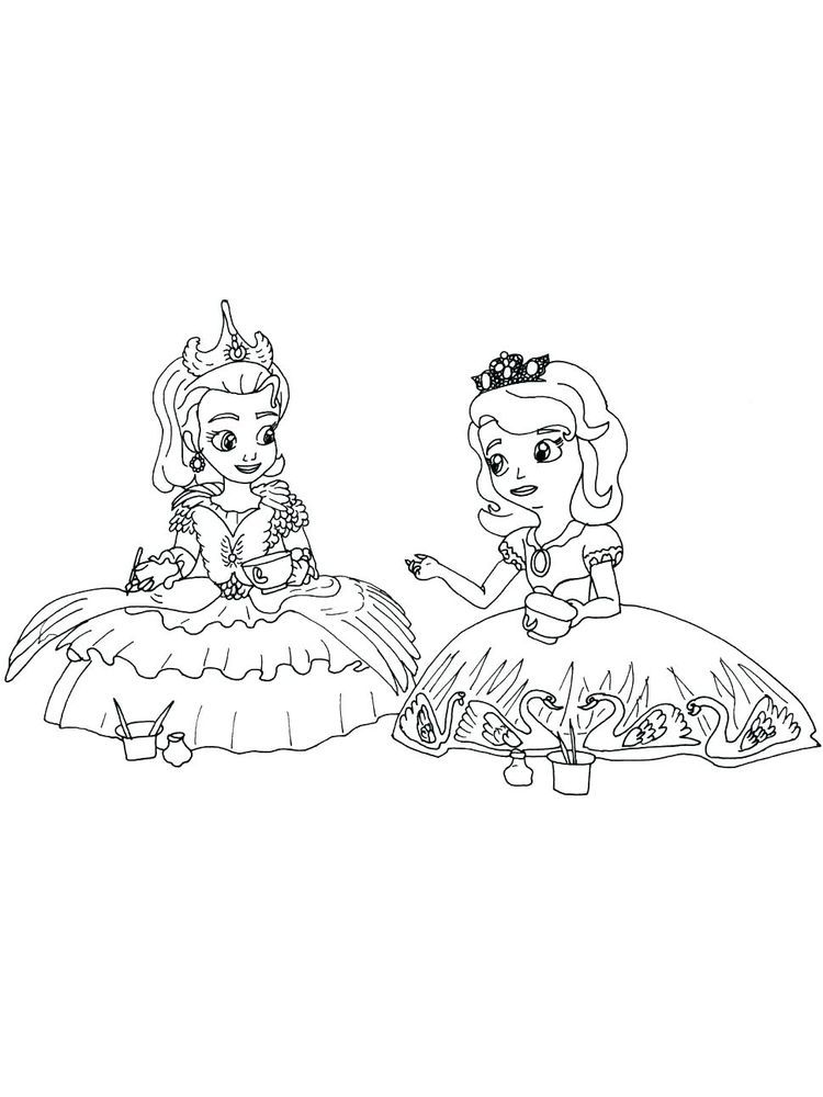 Free Printable Princess Sofia Coloring Pages Pdf The Following Is Our Collection Of Cute Princes Princess Coloring Pages Princess Coloring Princess Printables