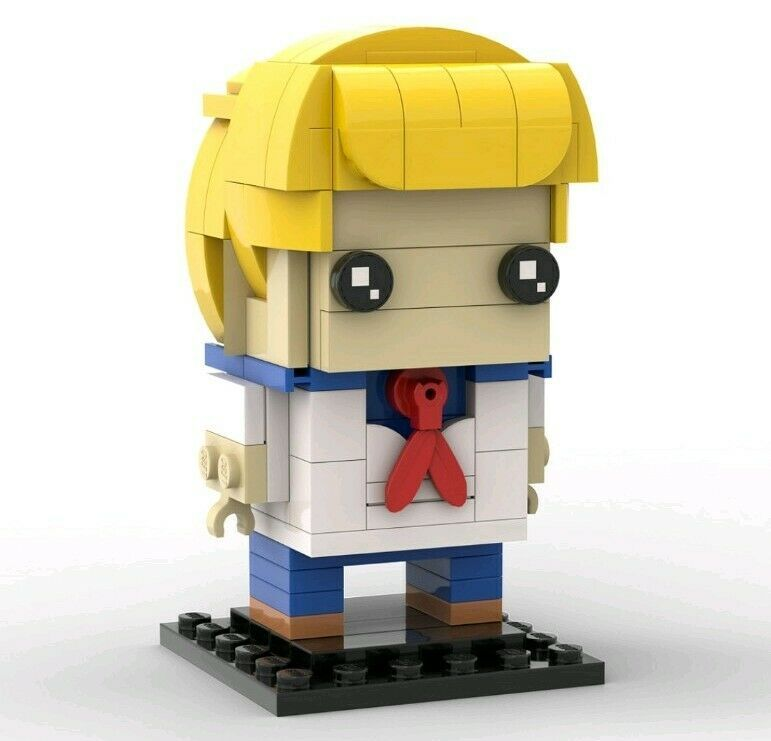 Details About Scooby Doo Gang Custom Lego Brickheadz