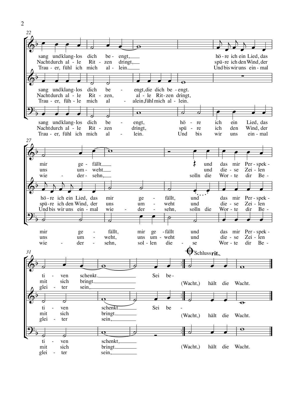 Sei Behütet Auf Deinen Wegen Gesangbuch