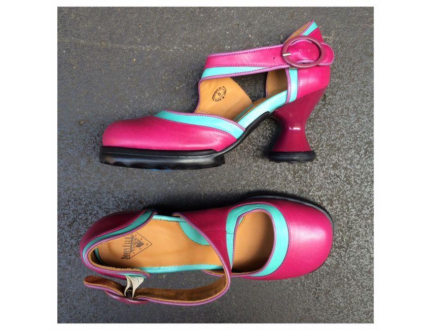 Elif pink/aqual/lilac - sole devotion