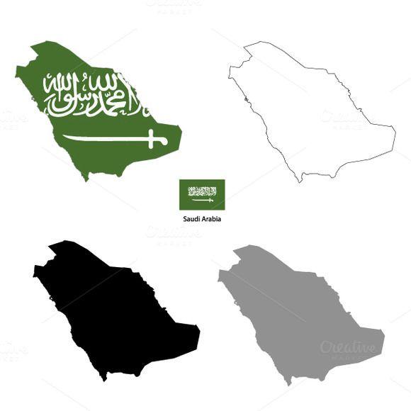 Saudi Arabia Country Silhouettes Saudi Arabia Culture Graphic Wallpaper Visual Design Trends