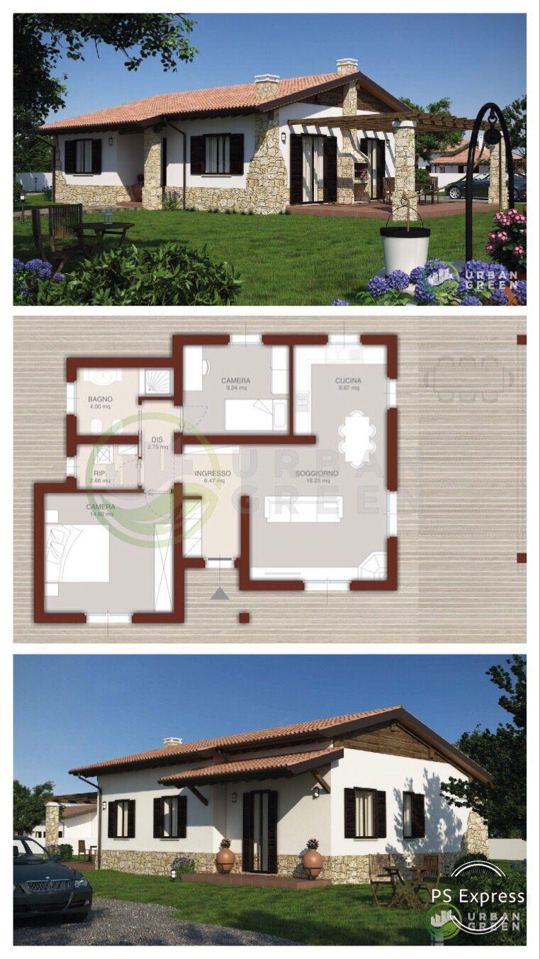 Casa In Legno Monopiano Urb14 Urban Green Planimetrie Di Case