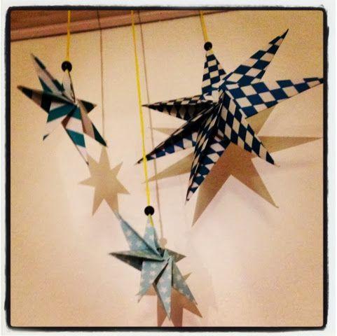 ByFonna: DIY Foldet stjerne
