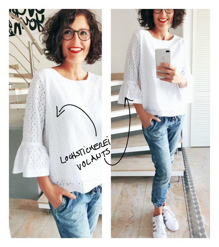 anlukaa glas+faden: Frau Yoko x3 | Nähen und Co | Pinterest | Blusen ...