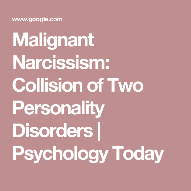when two narcissists collide