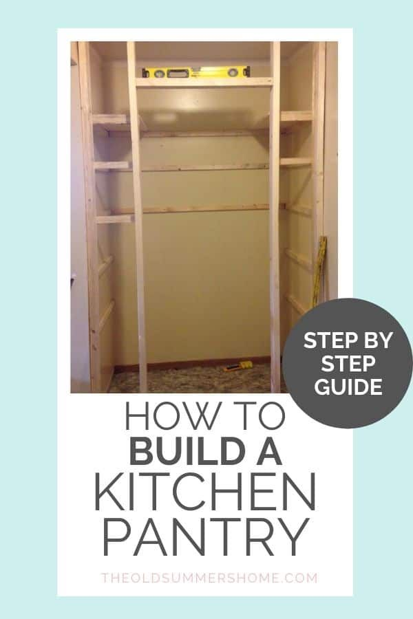 how to build a kitchen pantry shelves diy tutorial on simple effective and easy diy shelves decorations ideas the way of appearance of any space id=80288