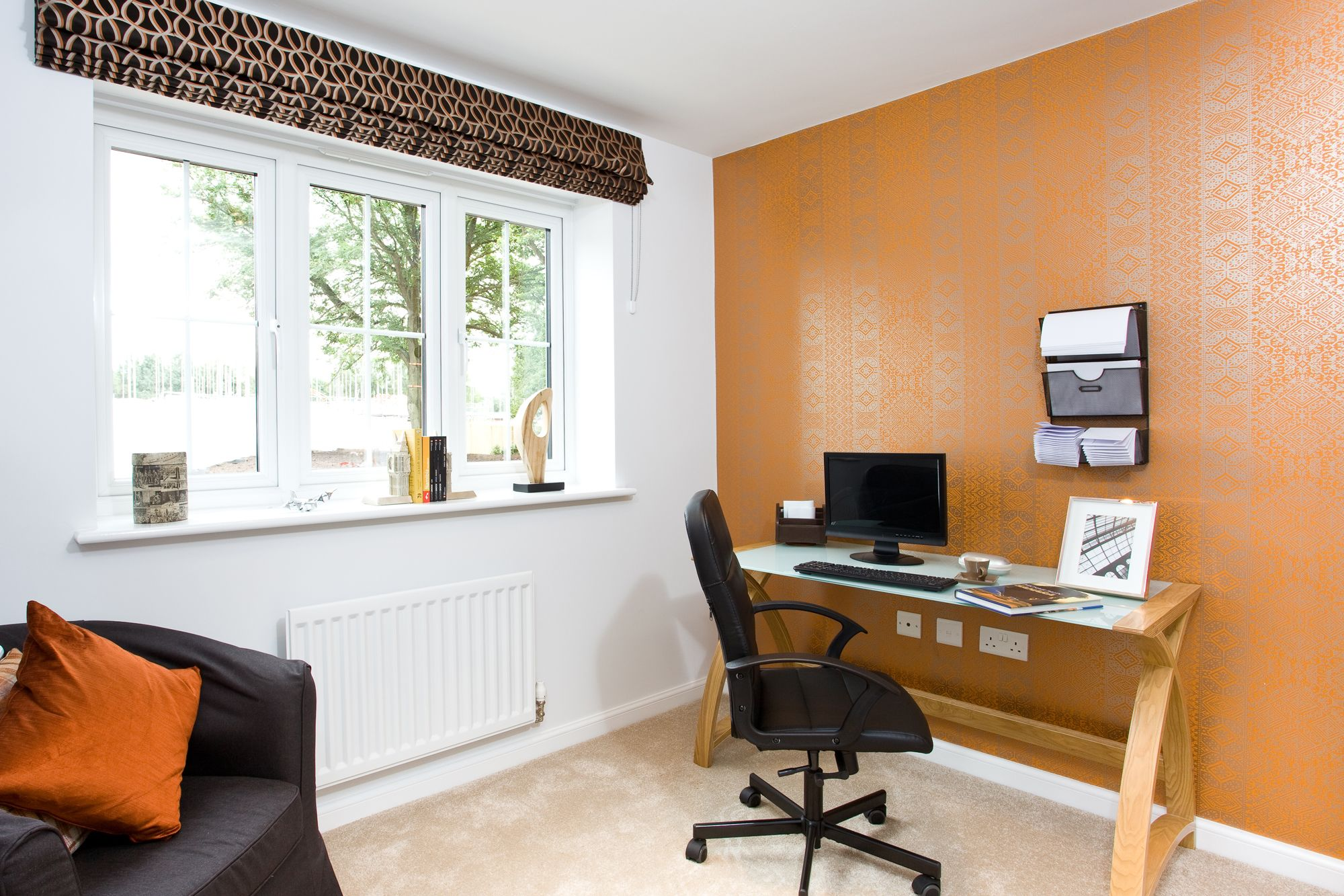 sales working home office. Working From Home In The Chester At Green Acres Yarnfield | Bovis Homes Sales Office