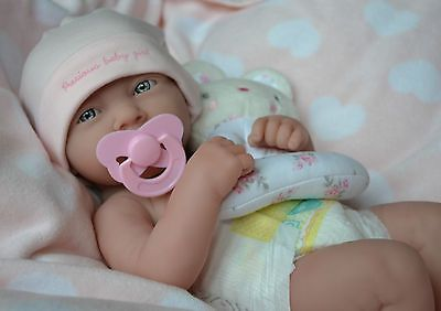 PLAY REALISTIC LIFELIKE DOLL  ❤️  BERENGUER LA NEWBORN REAL BABY GIRL REBORN