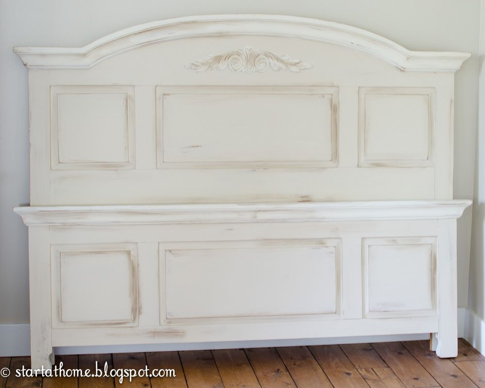 Tutorial on how to refinish Broyhill Fontana bedroom set with ...