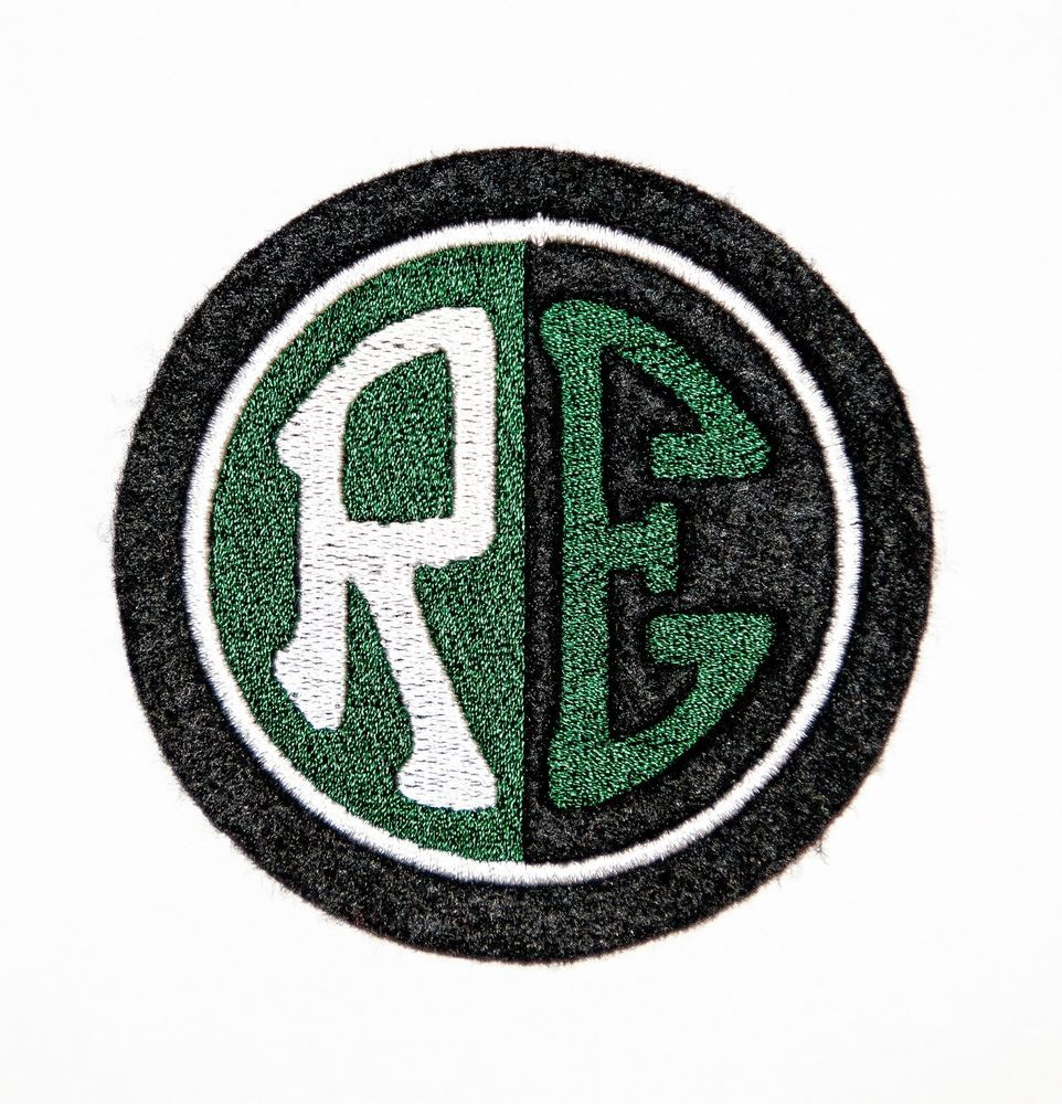 Classic Royal Enfield Motorcycles Embroidered Patch Bullet