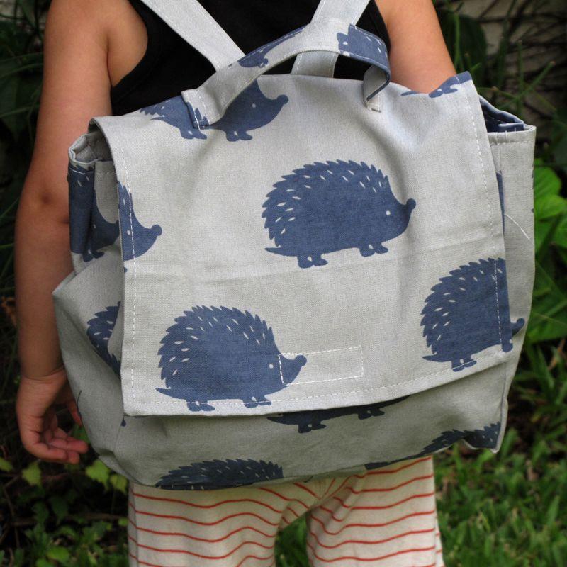mochila erizos | bla bla textiles